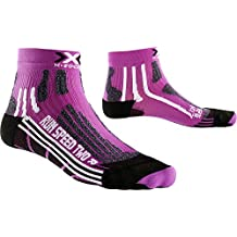 X-Socks Mujer xrun Speed Two Lady unidad calcetín, otoño/invierno, mujer, color Violet/Black, tamaño 37/38