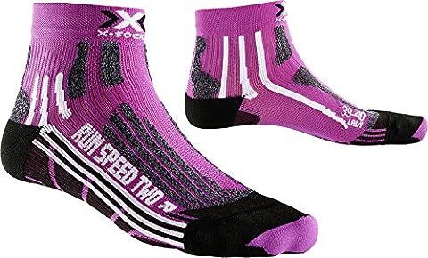 X-SOCKS Run Speed 2 - Chaussettes de Running femme