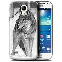 Stuff4 Hülle / Hülle für Samsung Galaxy S4 Mini / Wolf Muster / Zoo-Tiere Kollektion