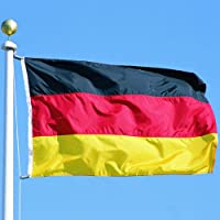 Flagge Fahne ca. 90x150 cm : Deutschland BRD Deutschlandflagge Deutschlandfahne Nationalflagge Nationalfahne