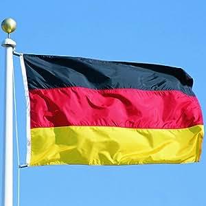 flagge fahne ca 90x150 cm deutschland brd deutschlandflagge deutschlandfahne nationalflagge. Black Bedroom Furniture Sets. Home Design Ideas