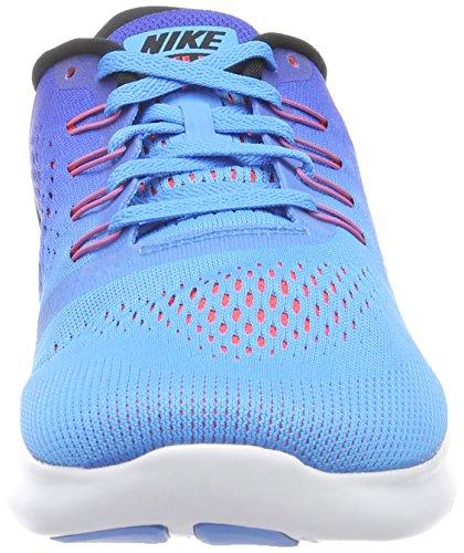 Nike Free Rn, Entraînement de course homme Multicolore (Blue Glow/Black/Racer Blue)