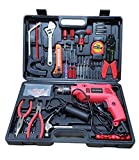 #7: Chillaxplus 13mm Impact Drill Machine Kit With 101 Pieces Tool Accessories