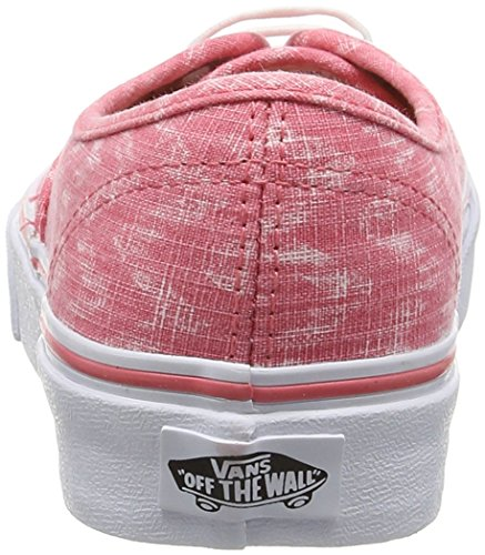 Vans - Authentic - Baskets Basses - Mixte Adulte blanc (Denim Chevron - Coral/True White)