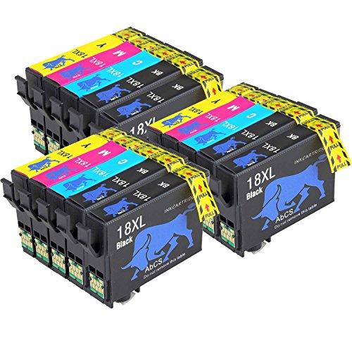 AA+inks Sostituzione per Epson 18XL Cartucce Inchiostro Compatibili per Epson Expression Home XP-215 225 422 322 312 212 412 305 405 212 415 425 315,6 Nero, 3 Cyan,3 Magenta, 3 Giallo