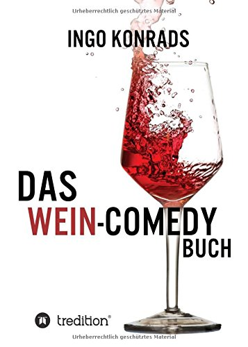 Buchcover Das Wein-Comedy Buch