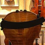 TIMESETL Violin Schulterstütze Einstellbar Gepolstert Geige Schulterhalter für Violine mit Größe 3/4 & 4/4