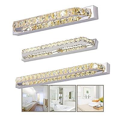 SAILUN® 10W/14W/18W LED Spiegelleuchte Modern Transparent Kristall ...