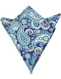 Blacksmith Men's Handkerchief (Blpsq194_Blue_Free Size)