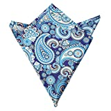Blacksmith Men's Handkerchief (Blpsq194_Blue_Free Size)