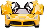 #5: MW toyz Remote Control Ferrari R/C Car With Openable Doors And Rechargable Batteries For Kids (Yellow)