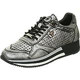 Cetti C848 SRA - Damen Schuhe Sneaker - Antic-Plomo, Größe:38 EU