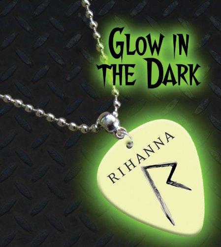 Bedruckte Plektren Company Rihanna Glow in the Dark Premium Gitarre Plektrum Kette/Kette