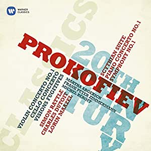 Prokofiev : Suite Scythe - Concerto pour piano n° 1 - Symphonie n° 1 - Concerto pour violon n° 1 - Concerto pour violoncelle - Visions fugitives
