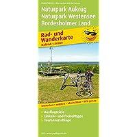 Naturpark Aukrug - Naturpark Westensee - Bordesholmer Land: Rad- und Wanderkarte mit Ausflugszielen, Einkehr…