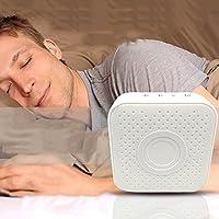 Weißes Rauschen Maschine White Noise Maschine mit 6 natürliche beruhigende Klänge, einstellbare Lautstärke Einschlafhilfe... preisvergleich bei billige-tabletten.eu