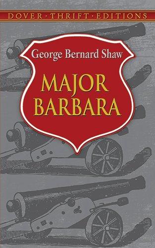 Major Barbara Paperback