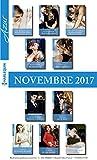 10 romans Azur + 1 gratuit (nº3885 à 3894-Novembre 2017)