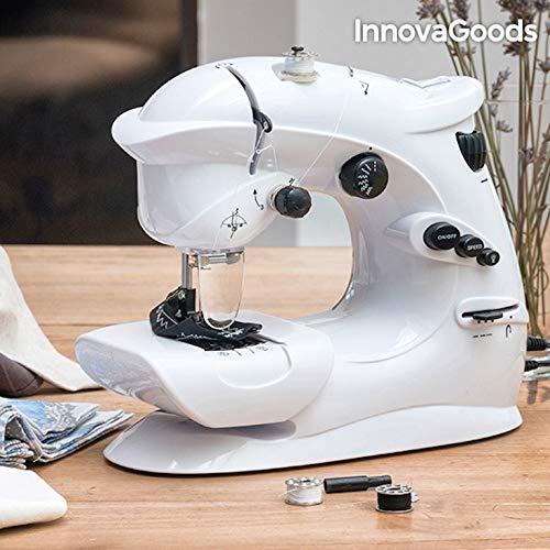 Sichler Haushaltsgeräte - Macchina da cucire compatta, con 7 programmi