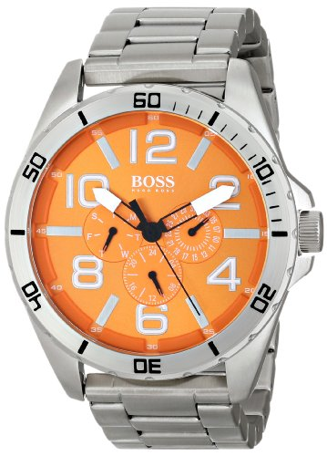 Hugo Boss Gents Watch Chronograph Quartz Stainless Steel 1512944 XL