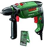 Bosch 89100–37-Schlägel PSB 650RE Compact mit Set X-Line 0603128005von 15Stück, grün