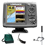 Lowrance Hook 5 Mid/High DownScan Combo Fischfinder Echolot GPS Portabel Master Plus