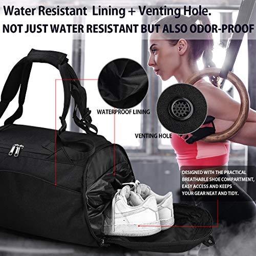 NEWHEY Damen Sporttasche schwarz