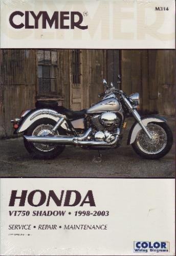 Honda VT 750 Shadow Ace 98-00, VT750DC S/Spirit 01-03, VT750 S/Ace Deluxe 98-03 (Motorcycle) por Ron Wright