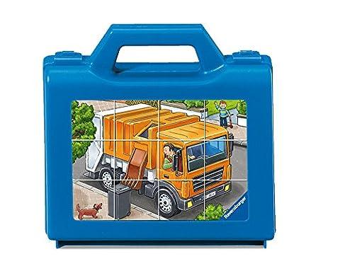 Ravensburger–07406–My Favorite véhicules–Cube puzzle 12pièces