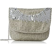 Frock and Frill Womens Clover Embellished Purse