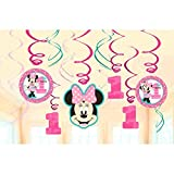 Minnie Mouse Fun zu einem Decken Swirl Dekorationen (12 count)