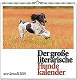 Wandkalender: Der große literarische Hundekalender 2019. Vierfarbig, Format 50 x 50 cm
