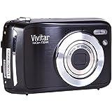 """Vivitar vT324 appareil photo numérique 12,1 mégapixels, capteur cMOS, zoom optique 3 x, zoom 5 x, écran 6,1 cm (2,4 """") (noir)"""