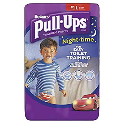 Huggies Pull-Ups Night Time Large Potty Training Pants for Boys : everything £5 (or less!)