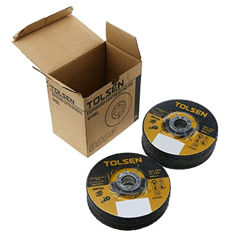 Tolsen - Trennscheiben Winkelschleifer für Metall 125 x 6 x 22.2 mm 10-pack