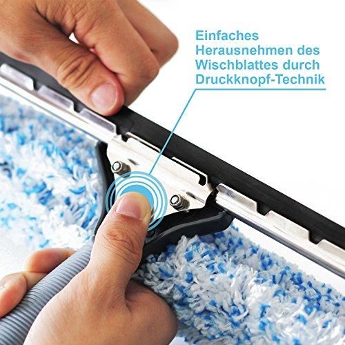 Abzieher und Fensterwischer in einem, in 3 Größen: 25 cm, 35 cm und 45 cm | inklusive einer Gratisprobe Profi-Glasreiniger (35 cm) - 4