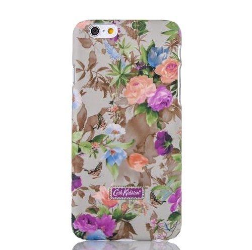 Monkey Cases® iPhone 6-4,7-Buntes Coque Case for iPhone 6-Fleurs et papillons-Housse en plastique-Original-Neuf/emballage d'origine-Colourful Flowers Butt erflys