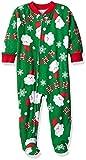 Saras Prints Baby Girls Soft Footed Pajamas