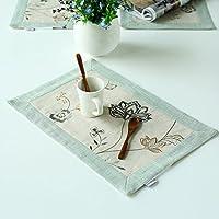 CinCin Occidentale Tabella Pad isolamento rilievo da tavola Mat Coaster Tea For Party Hotel casa Picnic banchetti ,