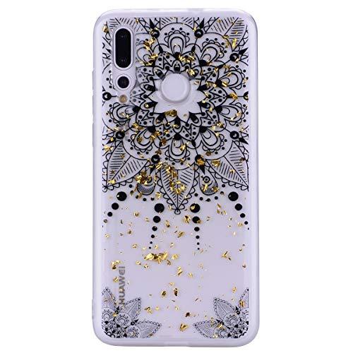 n Slim Soft-Flex Weiche TPU für Huawei Y7 2019 /Y7 Prime 2019,Transparent Silikon Gummi Gel Kreative Durchsichtige Kristal Klar Clear Bumper Beschützer Haut Schale ()