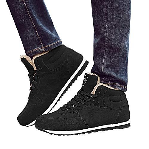 5896f5c4b35243 Styledresser Scarpe Sportive Uomo,Scarpe da Lavoro All'Aperto da Uomo  Invernali da Neve Calda alla Caviglia