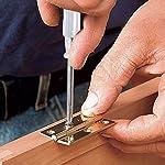 KINDPMA-16-Pezzi-Cerniere-per-Legno-Cerniere-in-Acciaio-Inox-6-Fori-con-Cacciavite-Cerniere-Connettori-per-Legno-Porte-Finestre-Armadio-Guardaroba-Scatola-Cassetta-Argento