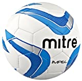 Mitre Impel Training Ball - White/Navy/Blue, 3