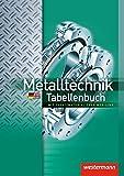 Image de Metalltechnik Tabellenbuch: mit Zusatzmaterial über Web-Link: Tabellenbuch