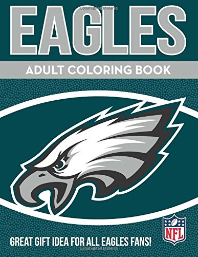In the Sports Zone Eagles Adult Coloring Book: A Colorful Way to Cheer on Your Team!