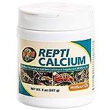 Zoo Med A33-8E Repti Calcium ohne D3, 227 g, Nahrungsergänzungsmittel für Reptilien und Amphibien - phosphorfrei!
