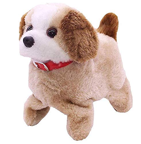 SSB WHOLESALE & RETAIL Battery Operated Fantastic Jumping Walking Barking and Puppy That Flips over Toy Best for Toddlers and Kids
