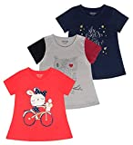 Minnow Girls Printed Tshirts(Pack of 2 , Age: 4-5 Yrs to 14-15 Yrs)