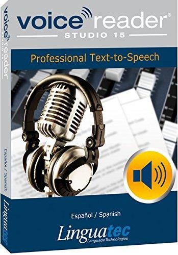 Voice Reader Studio 15 Español / Spanish – Professional Text-to-Speech - Programa para convertir texto a voz (TTS) para Windows PC