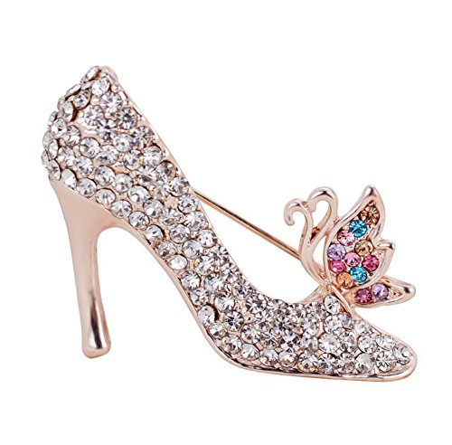 hosaire-1x-high-heeled-shoes-brooch-pin-rhinestone-covered-scarves-shawl-clip-for-women-ladiescolorf